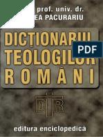 Mircea Pacurariu- Dictionarul Teologilor Romani
