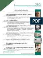 Semblanzas de compositores españoles