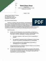 Alberto Gonzales Files - Senate Judiciary Committee Written Questions to Alberto Gonzales