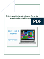 How to Change Zorin 8 Look Like Windows 8 Metro Lap