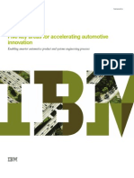 Five Key areas for accelerating automotive innovation