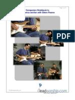 Companion workbook for Paul Baloche worship workshop.