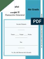 4to Grado - Bloque 2 - Español