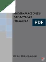 Programacion Didactica Muestra Primaria