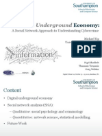 The Digital Underground Economy