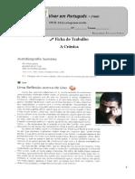 Ficha de Trabalho - A Cronica