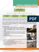 Ports and Harbour Design Logistics Optimization