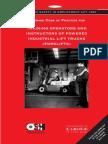 Instrucoes sobre Operacao de Empilhadeiras