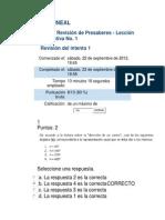 Act 1 Revisión de Presaberes ALGEBRA LINEAL