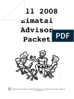 Advisor Packet Fall 2008 PDF