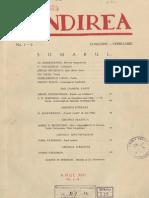 Gandirea, nr. 1-2, 1934