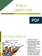 Bab 11. Turbin Air