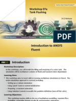 Fluent-Intro 14.5 WS07a Tank Flush