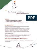Prix du DRH numérique - Présentation