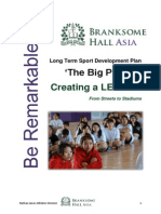 branksome long term sport development plan 2013