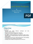 Structured Note Products