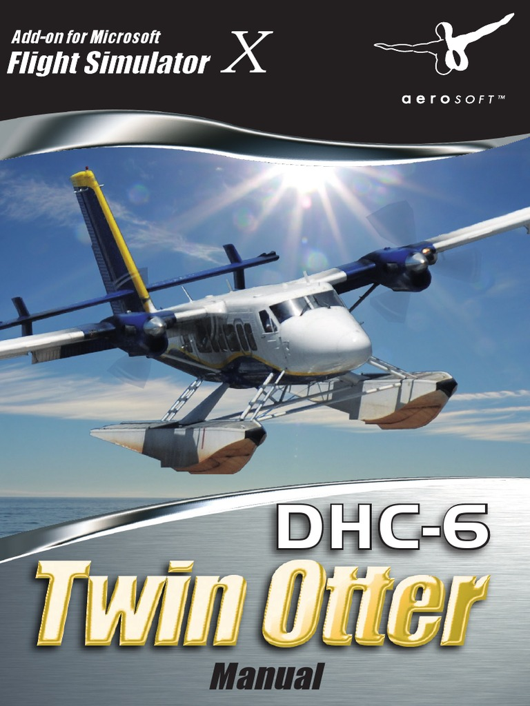 Manual DHC6 TwinOtter Engl | Landing Gear | Gas Turbine