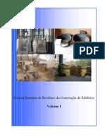 Manual Europeu de Resíduos da Construção de Edifícios - VolI