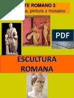 Escultura y Mosaico Romano