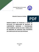 Processos de Acidificacao de Pocos de Petroleo