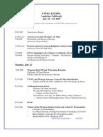 Alberto Gonzales Files -draft agenda cwagweb org-anaheimcwagtentativeagenda060107