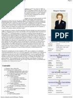 Margaret Thatcher - Wikipedia, La Enciclopedia Libre