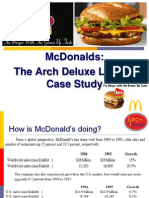 McDonalds the Arch Deluxe Launch