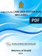 CRITICAL CARE BED SYSTEM FOR SRI LANKA