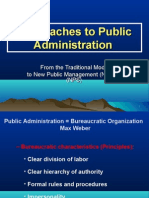 Approaches to PA