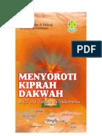 Menyoroti Kiprah Dakwah Ihya at-Turots dkk di Indonesia  - SAMPUL