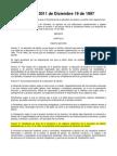 Decreto 3011 de 1997