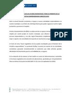 Bases Ayudas Municipales Emprendedores 2014