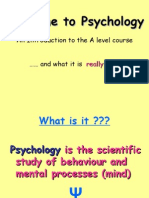 Sociology and Psychology