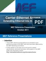 MEF-CECP Exam Documents