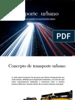 Trasporte Urbano