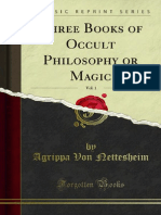 Three Books of Occult Philosophy or Magic v1 1000002993