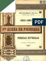 OBRAS COMPLETAS DE FRANCISCO ACUNA DE FIGUEROA - VOLUMEN VII - PORTALGUARANI