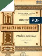 OBRAS COMPLETAS DE FRANCISCO ACUNA DE FIGUEROA - VOLUMEN IX - PORTALGUARANI