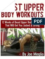 Beast Upper Body Workouts