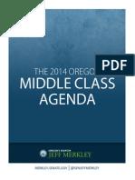 Senator Jeff Merkley's 2014 Oregon Middle Class Agenda
