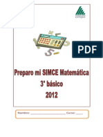 Cuadernillo Simce 3 Alumno Cmpc 3a-Rev