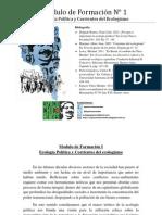 Formación en Ecología Política y Popular I
