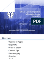 2014 Case Competition Info Session Slides