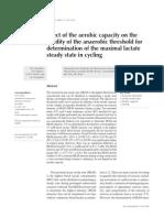 Ciencias Lactato Capacidad Aerobica y Anaerobica