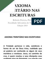 Axioma Trinitario Nas Escrituras