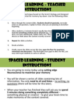 spaced learning  session 1 life processes
