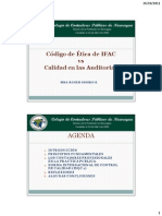 Presentacion Codigo de Etica de IFAC