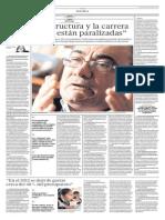 Entrevista al Dr. Idel Vexler - 10 de Marzo Diario El Comercio