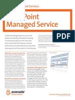 Sharepoint Managed Service