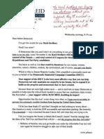 Reid - DSCC fundraising letter